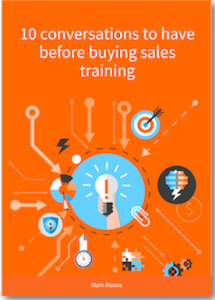 10 conversations to have before sales training